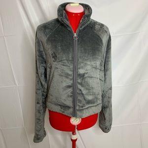 NWT Hollister Faux Fur Zip Up Jacket
